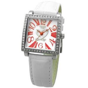 COGU(コグ) 腕時計 Ryo リョウ スクエアシリーズ ホワイト RYO1206S-R1W レディースウォッチ - 拡大画像