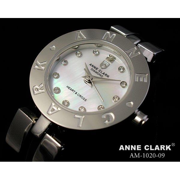 ANNE CLARK(アン・クラーク)レディース腕時計 AM1020-09 【愛らしいスイング・チャームがキラリ☆】f00