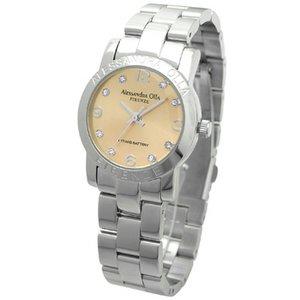 Alessandra Olla(アレサンドラオーラ)腕時計 ラウンドフェイス レディースウォッチ AO-715 ピンクゴールド h02