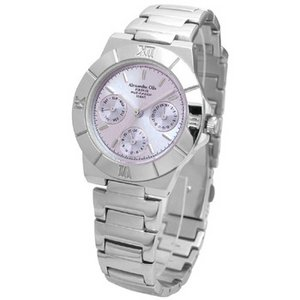 Alessandra Olla アレサンドラオーラ 腕時計 マルチファンクション レディースウォッチ AO-900-7 パープル - 拡大画像