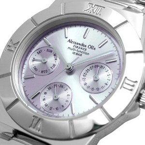 Alessandra Olla アレサンドラオーラ 腕時計 マルチファンクション レディースウォッチ AO-900-7 パープル h02