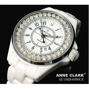 アン・クラーク レディース セラミック腕時計 AU1028.03WCS h01