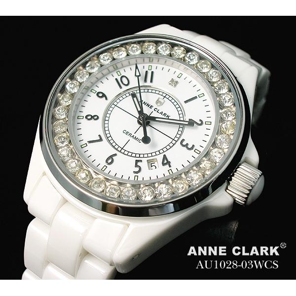 アン・クラーク レディース セラミック腕時計 AU1028.03WCSf00