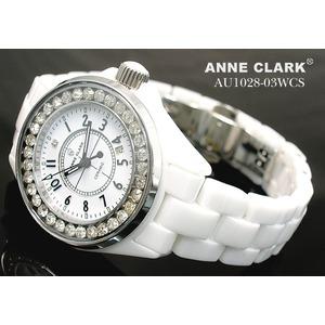 アン・クラーク レディース セラミック腕時計 AU1028.03WCS h02
