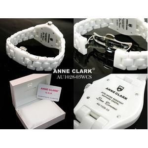 アン・クラーク レディース セラミック腕時計 AU1028.03WCS h03