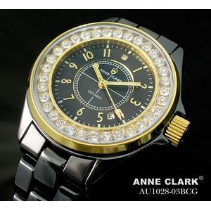 アン・クラーク レディース セラミック腕時計 AU1028.03BCG h01