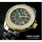 アン・クラーク レディース セラミック腕時計 AU1028.03BCG