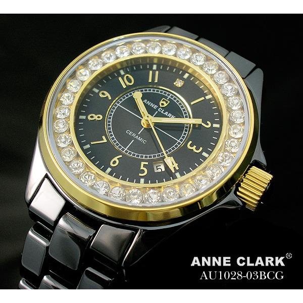 アン・クラーク レディース セラミック腕時計 AU1028.03BCGf00