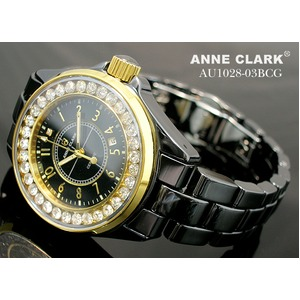 アン・クラーク レディース セラミック腕時計 AU1028.03BCG h02