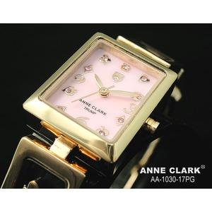 アン・クラーク レディース クォーツ腕時計 AA1030−17PG