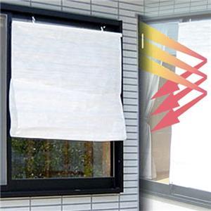 ホワイトサンシェイド (小窓用) - 拡大画像