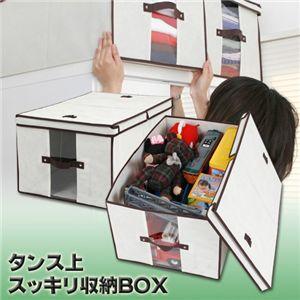 タンス上スッキリ収納BOX 2個組