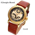 GIORGIO ROSSI(ジョルジオロッシ) オートマ ジャンピングセコンド GR-0004-GP/ゴールド