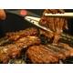 亀山社中 焼肉 計4kgセットB 【華咲きハラミ400g×4、華咲きカタロース400g×6 、ハサミ、レシピ付き】 写真2