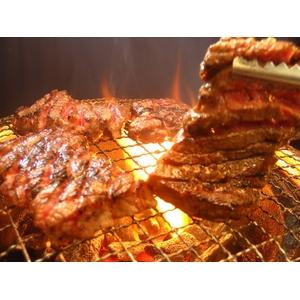 亀山社中 タレ漬け焼肉セット 華咲きハラミ&華咲き肩ロース 2.1kg