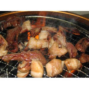 亀山社中 タレ漬焼肉・BBQ 牛ミックスホルモン 250g×5p