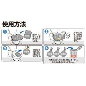 災害用トイレセット 水のいらない簡易トイレ マイレット mini10 【2箱セット】