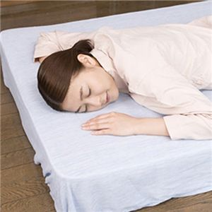 クールシーツDX 『涼(suzu)』 高島ちぢみ セミダブル ベッド用