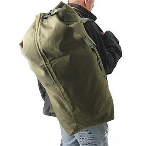 【メンズ】 【大型70リットル】アメリカ陸軍採用 防水ダッフルバッグ BD5NN アーミーグリーン - 拡大画像