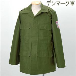 デンマーク軍 紋章付き コンバットジャケット デッドストック 10171 M-L - 拡大画像