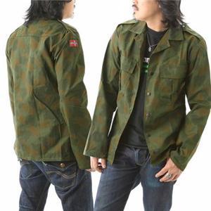 ノルウェーAFカモフラシャツジャケットデッドストック 11041 M