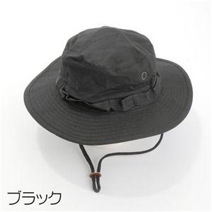 ジャングルハット ブラック L - 拡大画像
