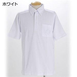 COOLBIZ ドライメッシュBDシャツ ホワイト LLサイズ