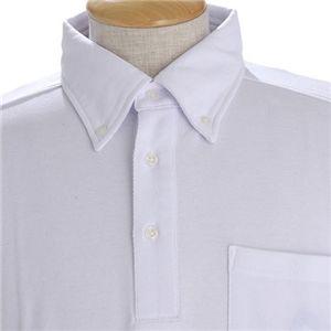 COOLBIZ ドライメッシュBDシャツ ホワイト Lサイズ