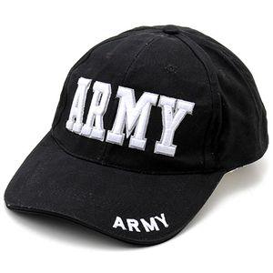 米軍 ベースボールキャップ&USSキャップ AR MY