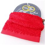 スペイン製『BUFF』撥水透湿POLARTEC使用多目的ヘッドスカーフ レッド