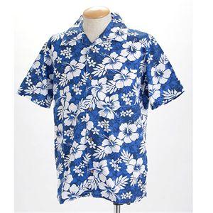 【アロハシャツ 】│ブルー画像1