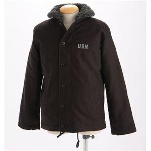 米軍『N-1』DECKジャケットブラックSサイズ