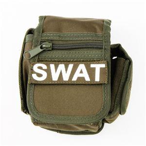 アメリカSWAT部隊多機能ベルトポーチ復刻番 オリーブ - 拡大画像