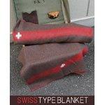 スイス軍 ウールブランケット EE263YN スモール 【レプリカ】