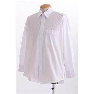 百貨店取り扱いメーカー ホワイトワイシャツ ホワイト LLサイズ