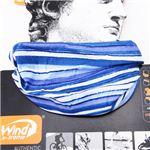 スペイン製COOLWIND多目的ヘッドスカーフ ブルーストライプ