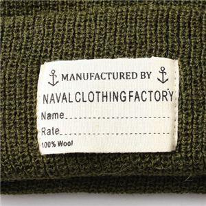 NAVA L C LOTHING FACTORY ウォッチキャップレプリカ オリーブ