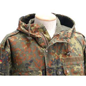 【ドイツ軍放出】ブンデスウェアー パーカーコート 本物 JP009UN カモフラージュ Lサイズ【中古】