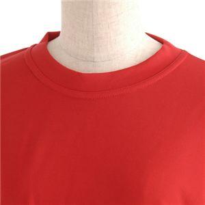 肌ざわり最高 スポーツ吸汗速乾ロング袖Tシャツ 2枚SET レッド 【XSサイズ】の写真2