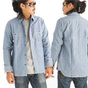 デニムシャツ Mサイズ