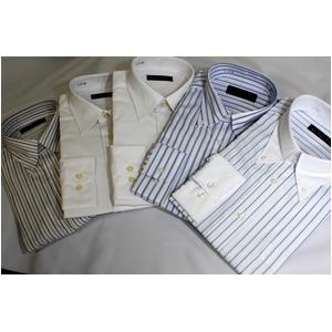 【福袋 柄お任せ】某百貨店仕様ワイシャツ(LLサイズ)5点&シルクネクタイ5点セット
