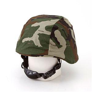 U.Sタイプ M88フリッツヘルメット ウッドランド - 拡大画像