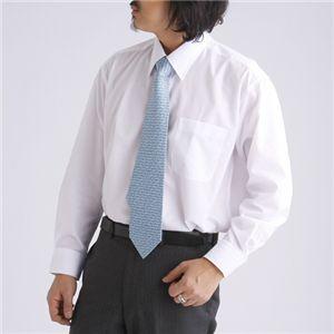 【 百貨店仕立て 】 ワイシャツ3枚セット VV1950 【 長袖 】 ホワイト Lサイズ h03
