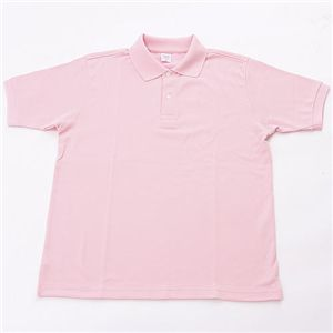 ドライメッシュアクティブ半袖ポロシャツ ソフトピンク 3L