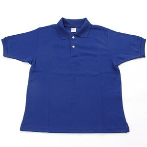 ドライメッシュアクティブ半袖ポロシャツ ロイヤルブルー 3L