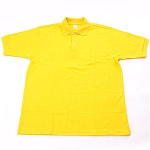 ドライメッシュアクティブ半袖ポロシャツ イエロー 3L