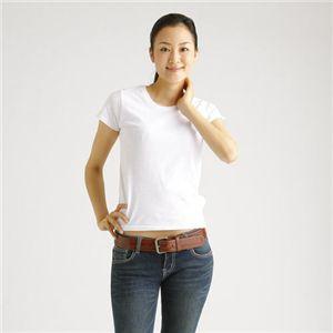 ホワイト2枚+バーガンディ1枚 計Tシャツ3枚セット GM - 拡大画像