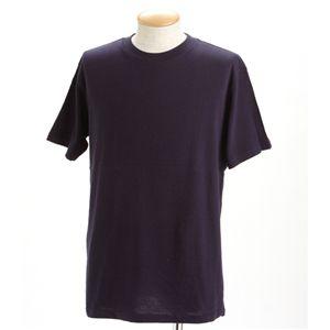 5枚セットTシャツ ネイビー×5枚 XXL