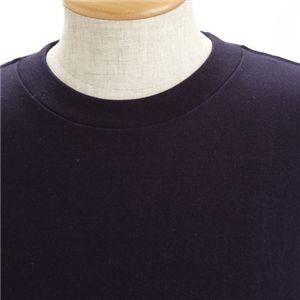 5枚セット Tシャツ ネイビー×5枚 L h02