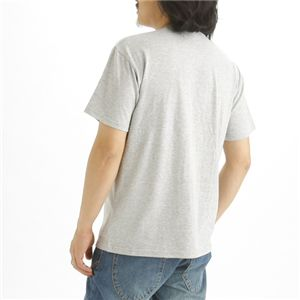 5枚セット Tシャツ 杢 グレー×5枚 XXL h02